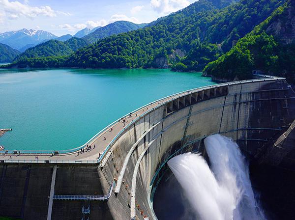 Shell Energy Wasserkraftwerk